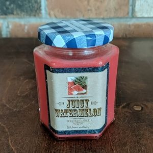 Home Interiors Accents - Home Interiors Juicy Watermelon Candle